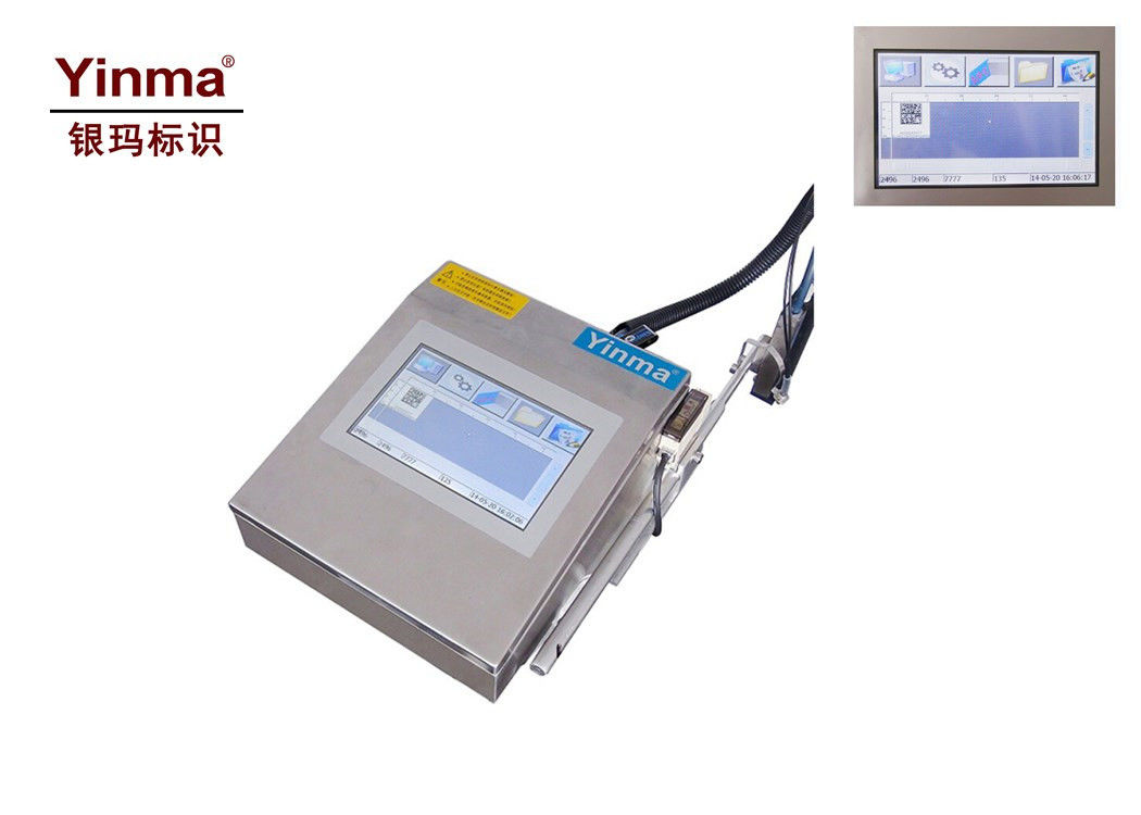YM-190A-54 Industrial Inkjet Coding Printer For Food Package / Wood Floor