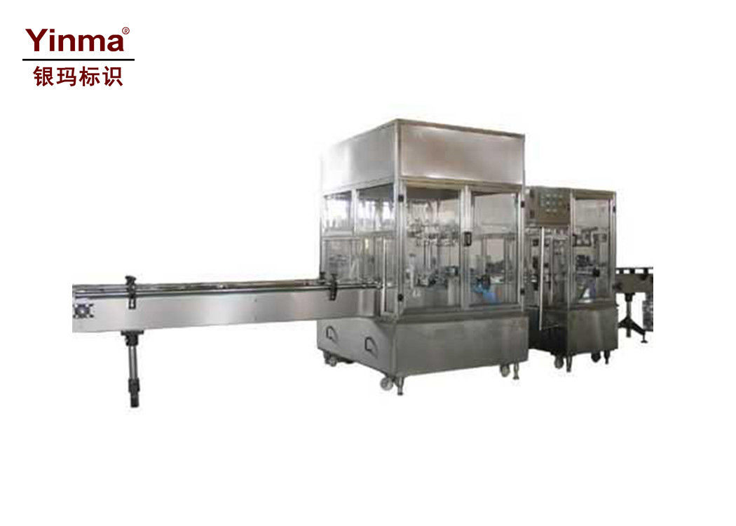 Plastic Bottle Filling Machine , Drinking Water Filling Machine Dimension Customized