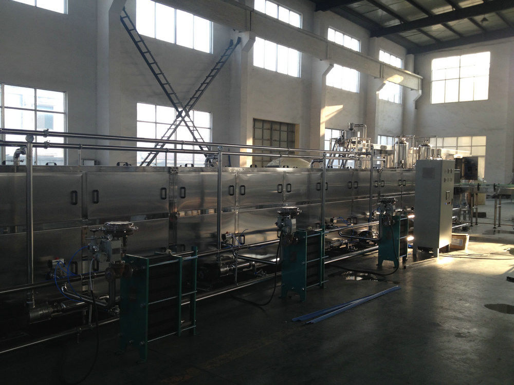 Touch Screen Water Cup Filling Machine , Drinking Water Filling Machine 15000bph