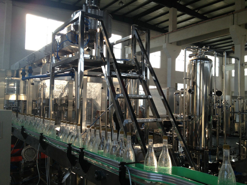 High Speed Automatic Filling Machine For Drink Plant Customized Size